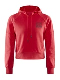 District Hoodie W - Red