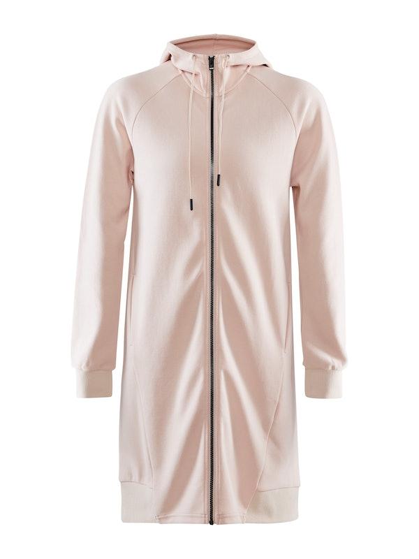District Long hoodie w zip W