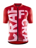 Adv Endurance Graphic Jersey M - Red