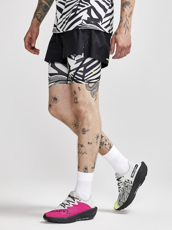 Dazzle Camo 2in1 Shorts