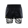 Dazzle Camo 2in1 Shorts - Grå