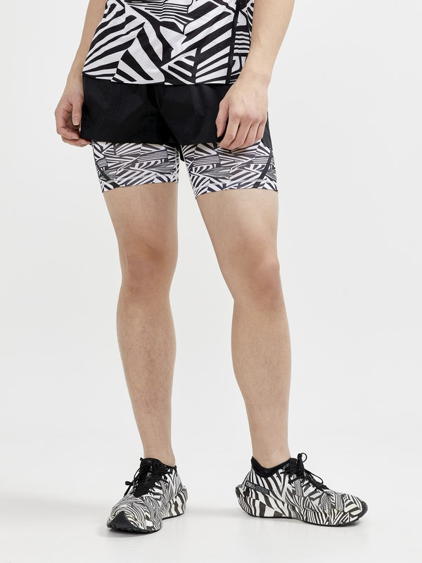 Dazzle Camo 2in1 Shorts