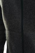 Noble Zip Jacket Heavy Knit fleece M - Svart