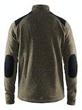 Noble Zip Jacket Heavy Knit fleece M - Grå