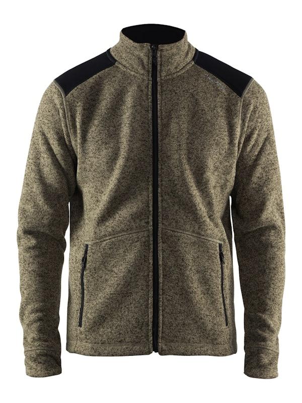 Noble Zip Jacket Heavy Knit fleece M