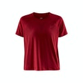 ADV Charge Perforated Tee W - Röd
