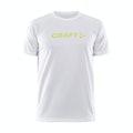 Core Unify Logo Tee M - Vit
