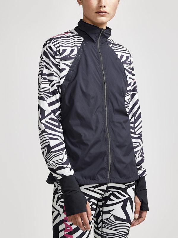 Dazzle Camo Wind Jacket W
