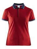 Noble Polo Pique Shirt W - Röd