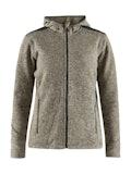 Noble hood jacket W - Brown