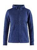 Noble hood jacket W - Blue