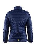 Light primaloft jacket W - Marinblå