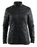Light primaloft jacket W - Svart
