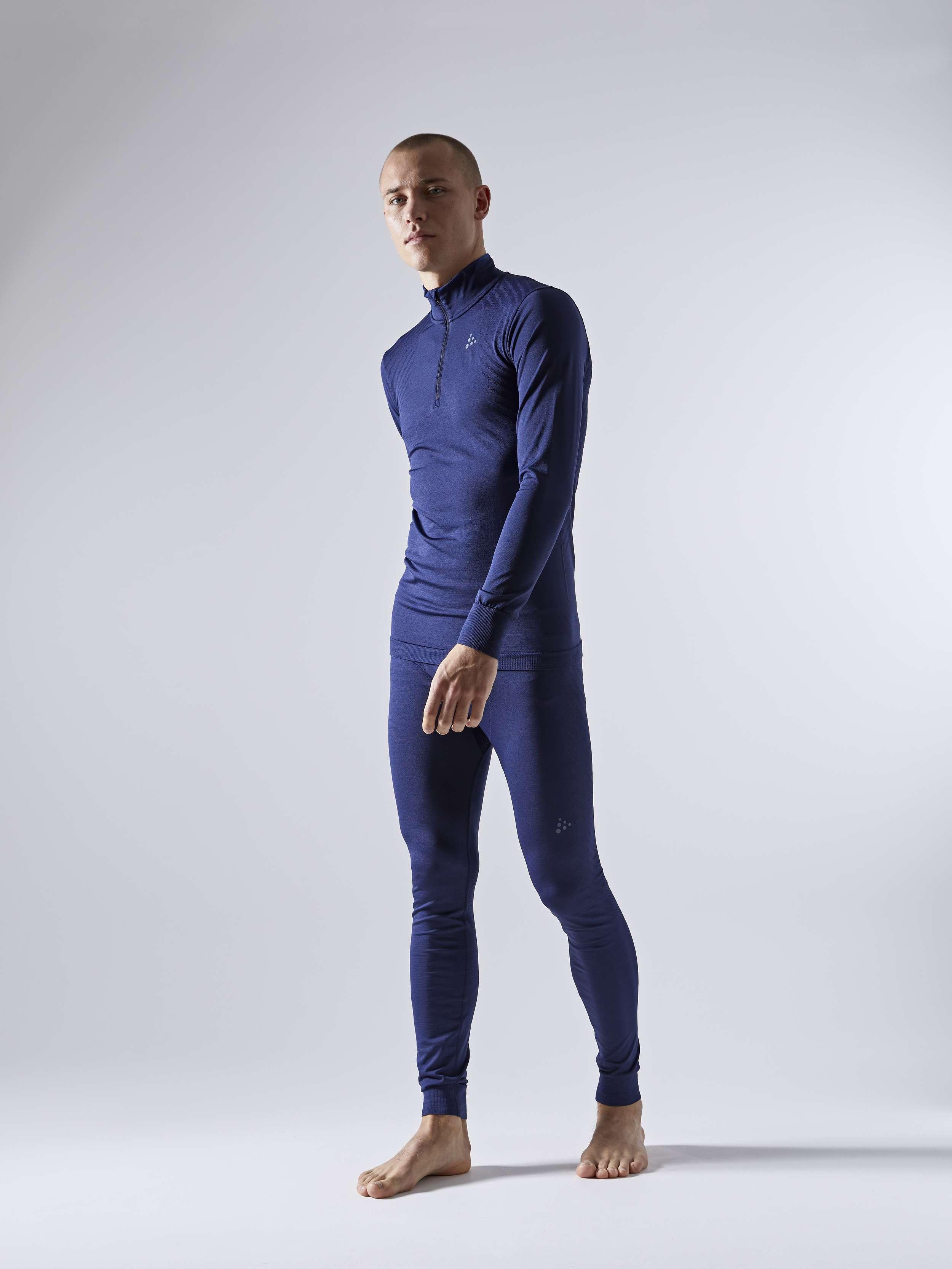 Craft Homme fuseknit Confort RN à manches courtes sous-vêtement-Shore Melange