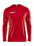Squad Jersey Solid LS M - Red