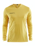 Squad Jersey Solid LS M - Yellow