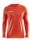 Squad Jersey Solid LS M - Orange