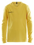 Squad Jersey Solid LS Jr - Yellow