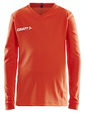 Squad Jersey Solid LS Jr - Orange