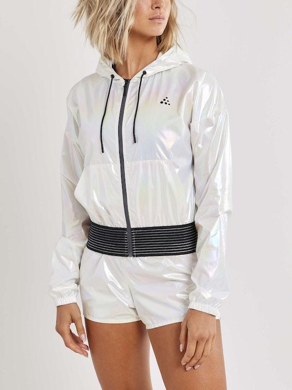 UNTMD Shiny Hood Jacket W