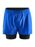 ADV Essence 2-in-1 Stretch Shorts M - Blue