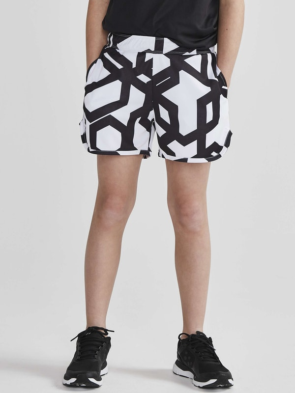 Focus Printed Shorts Jr