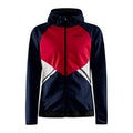 Glide Hood Jacket W - Marinblå