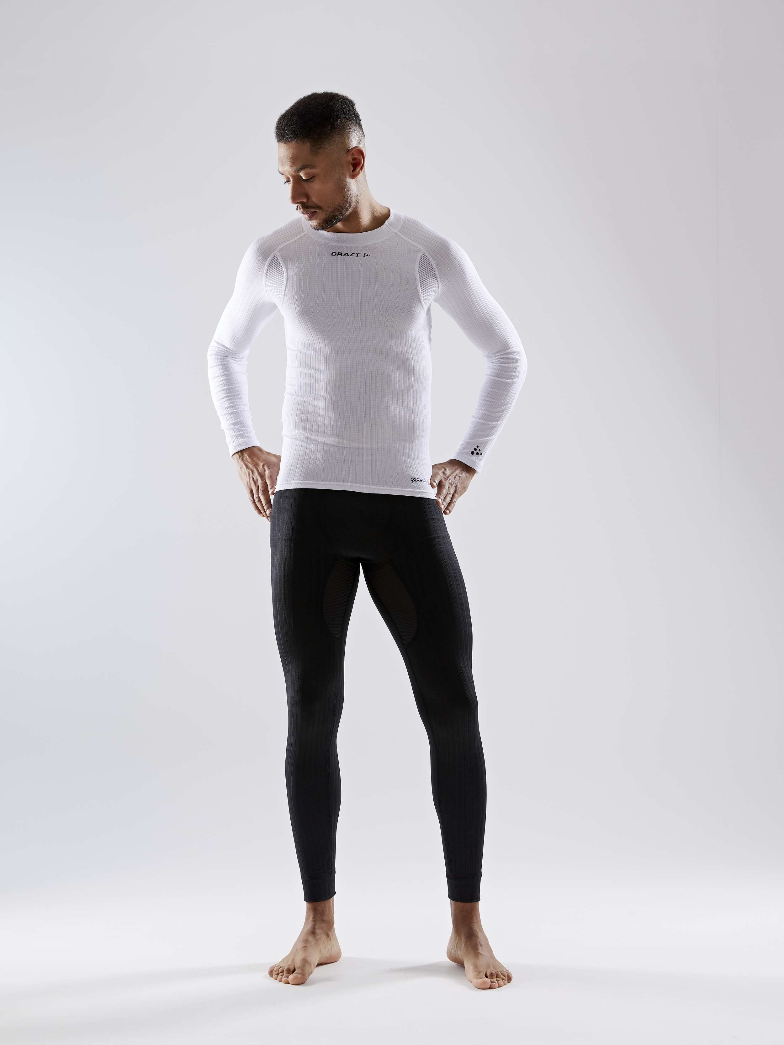 Craft Active Extreme CN SS Men Base Layer Gr.XL 7 White Silver