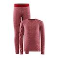 CORE Wool Merino Set J - Rosa