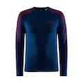 ADV Warm Fuseknit Intensity LS M - Navy blue