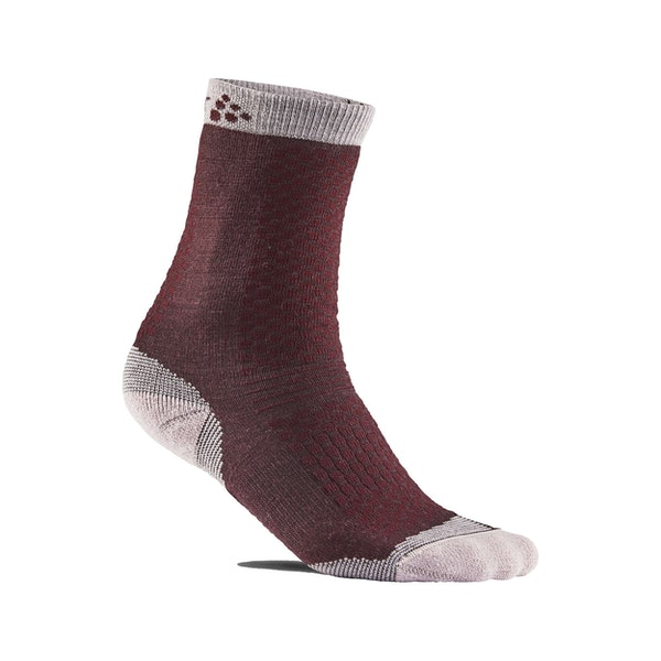 Warm Mid 2-Pack Sock Jr