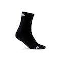 Warm Mid 2-Pack Sock Jr - Black