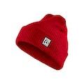 Core Rib Knit Hat - Röd