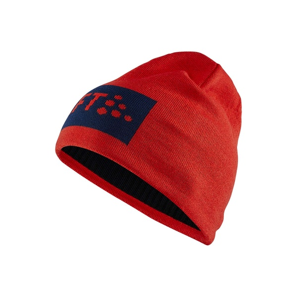 Core Square Logo Knit Hat