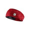 Microfleece shaped headband - Pink