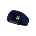 Microfleece shaped headband - Navy blue