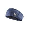 Microfleece shaped headband - Blue